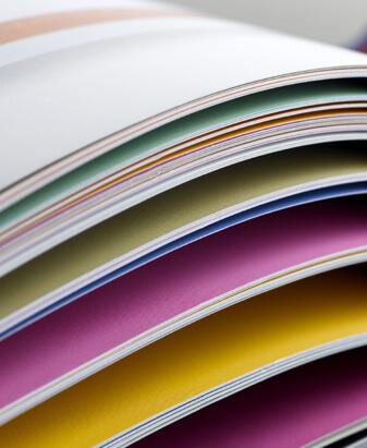 Colorful Printed Paper